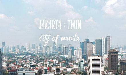 Jakarta: Twin City of Manila