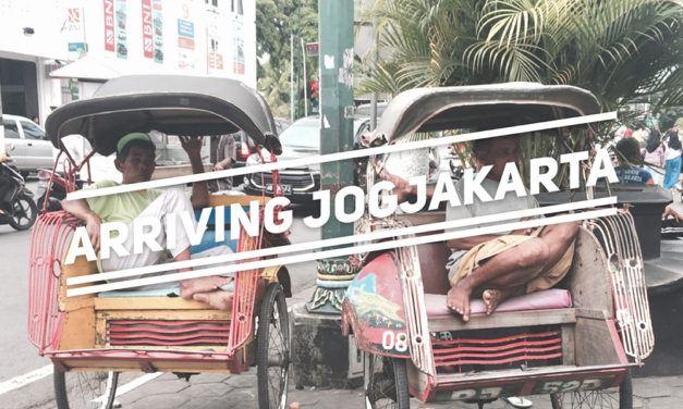Arriving Jogjakarta by Train