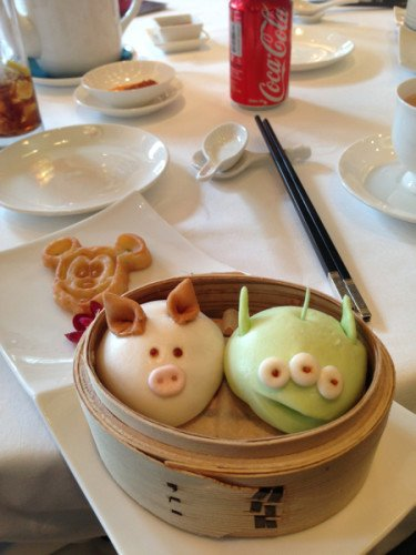 Marsian & Pig Bun