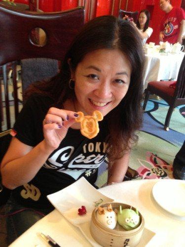 Mickey Mouse Glutinous Cake