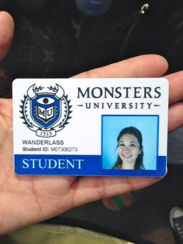 UniversityWanderlass at Monsters University