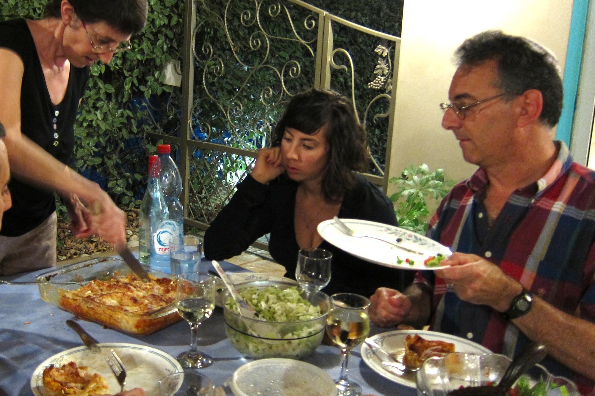 of Shavuot & kibbutz