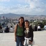 Walking in Barceloneta