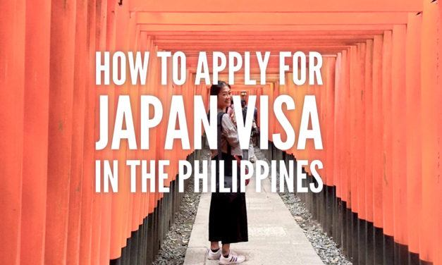 How to Apply for Japan Visa in the Philippines (Updated 2016)