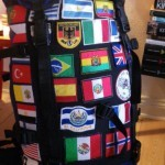 what do you do with backpack flags