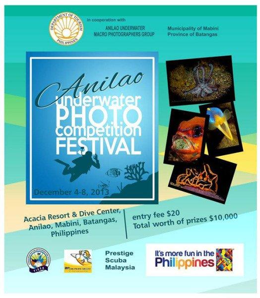 1st Anilao Underwater Photo Competition Festival