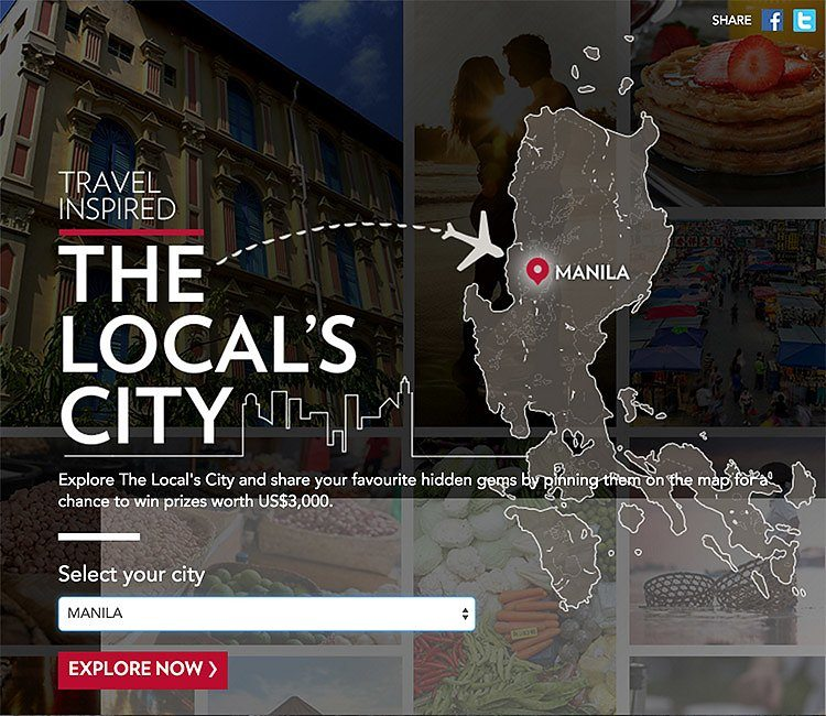 Travel Inspired: The Locals City Map