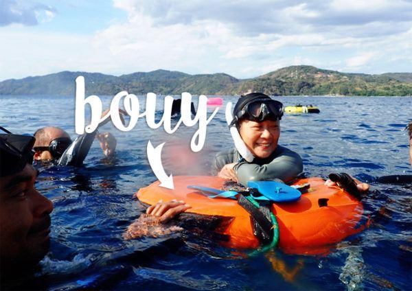 freediving bouy