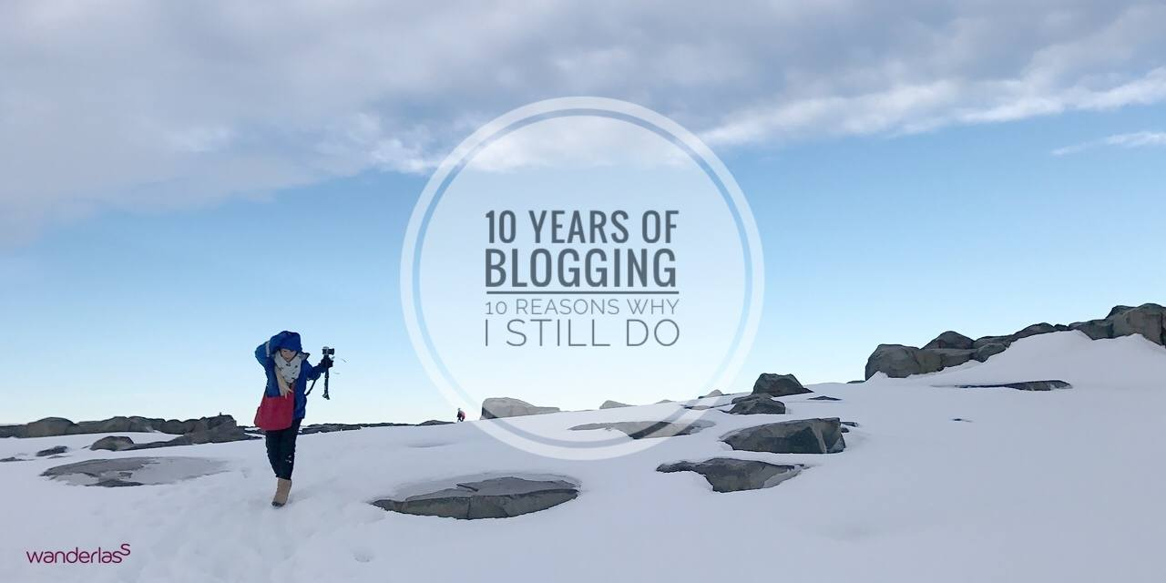 10 years of blogging and 10 reasons why I blog