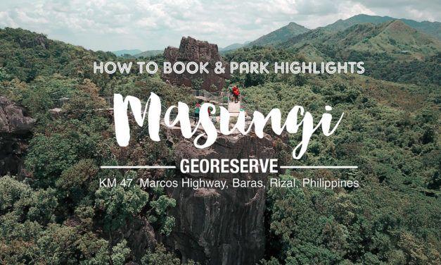 Masungi Georeserve – How to Book & Highlights