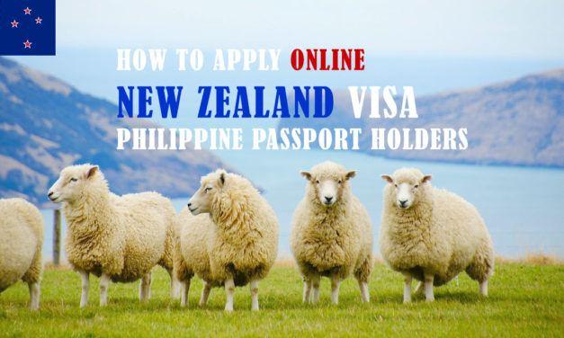 New Zealand Visa ONLINE for Philippine Passport Holders