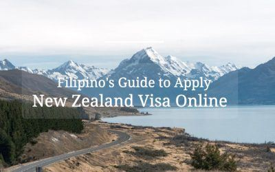 New Zealand Visa ONLINE for Philippine Passport Holders