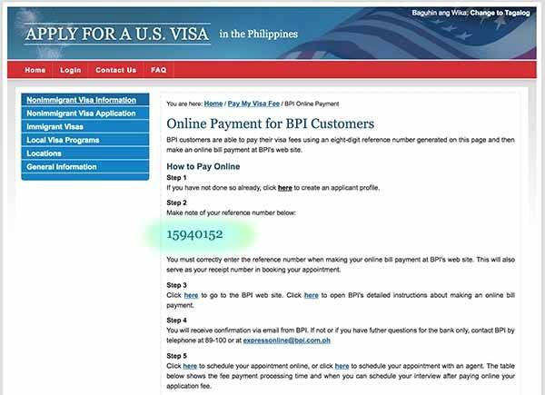 US Visa Application for Filipinos, First Time Applicant 2018