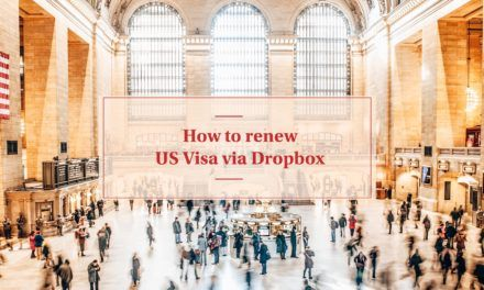 US Visa Renewal for Filipinos, Dropbox Only
